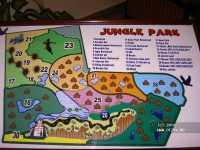 Египет, Jungle Aqua Park 4*. схема отеля.